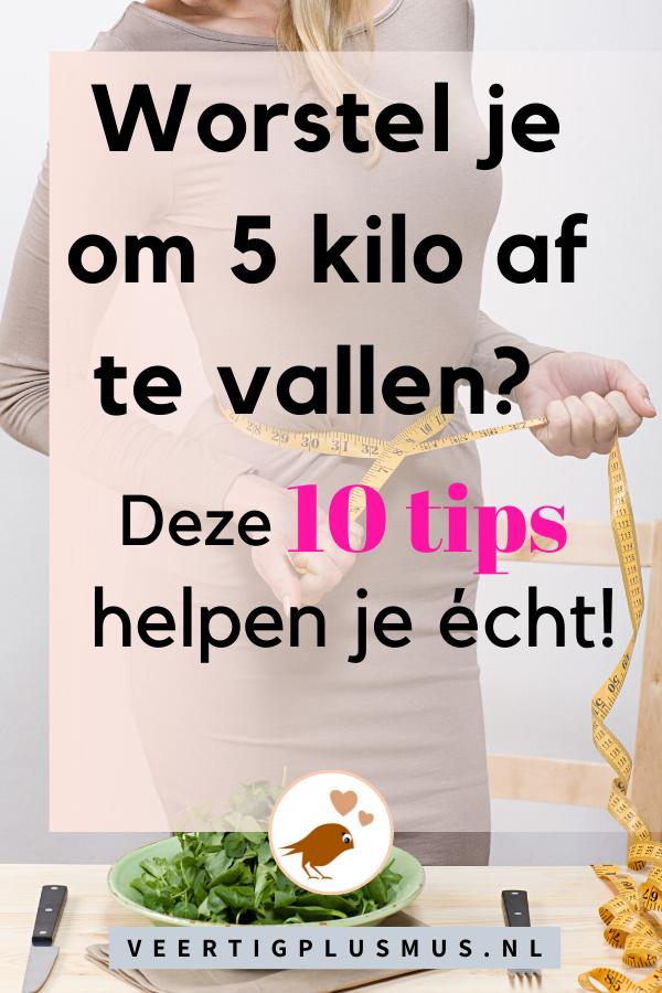 Worstel je om 5 kilo af te vallen? Deze 10 tips helpen je écht!