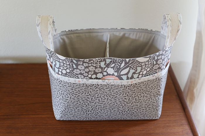 Divided Basket - Morning Song | Small items I'd like to sew | Basket