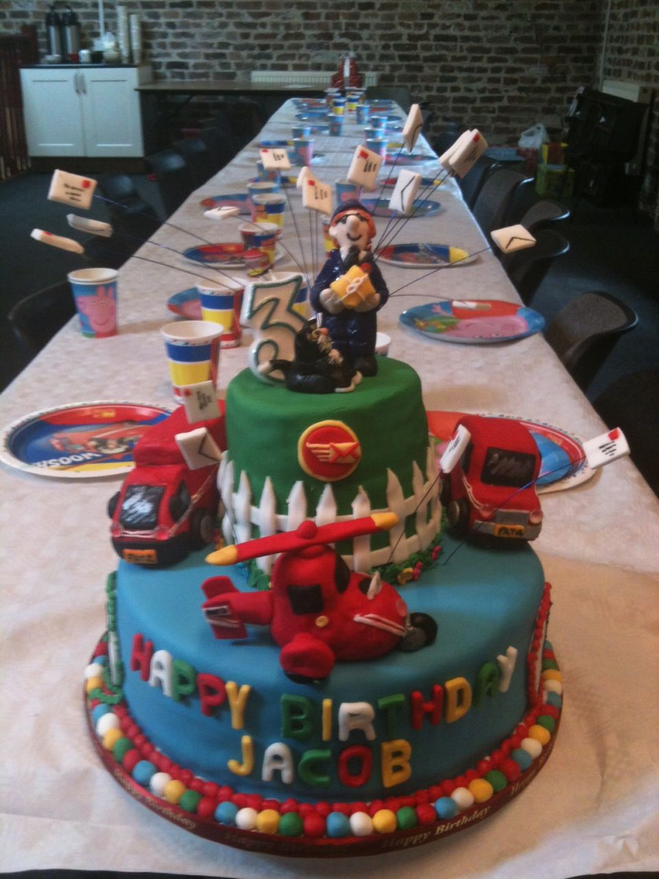 Postman Pat Cake Decorations Uk