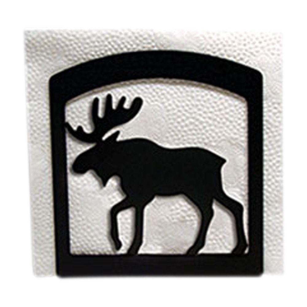 Black Metal Moose Napkin Holder (NH-19-VWR) | Products | Pinterest ...