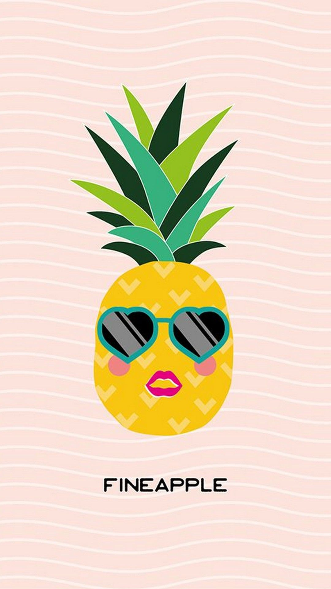 Cute Pineapple Wallpaper For Mobile