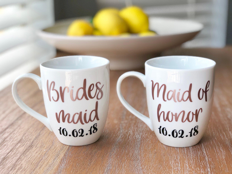 Bridesmaid mug bridal party gifts bridesmaid gift