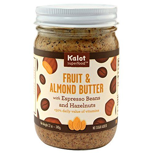 Kalot Superfood Fruit Almond Butter With Espresso Bea Superfood Fruit Superfood Espresso Beans