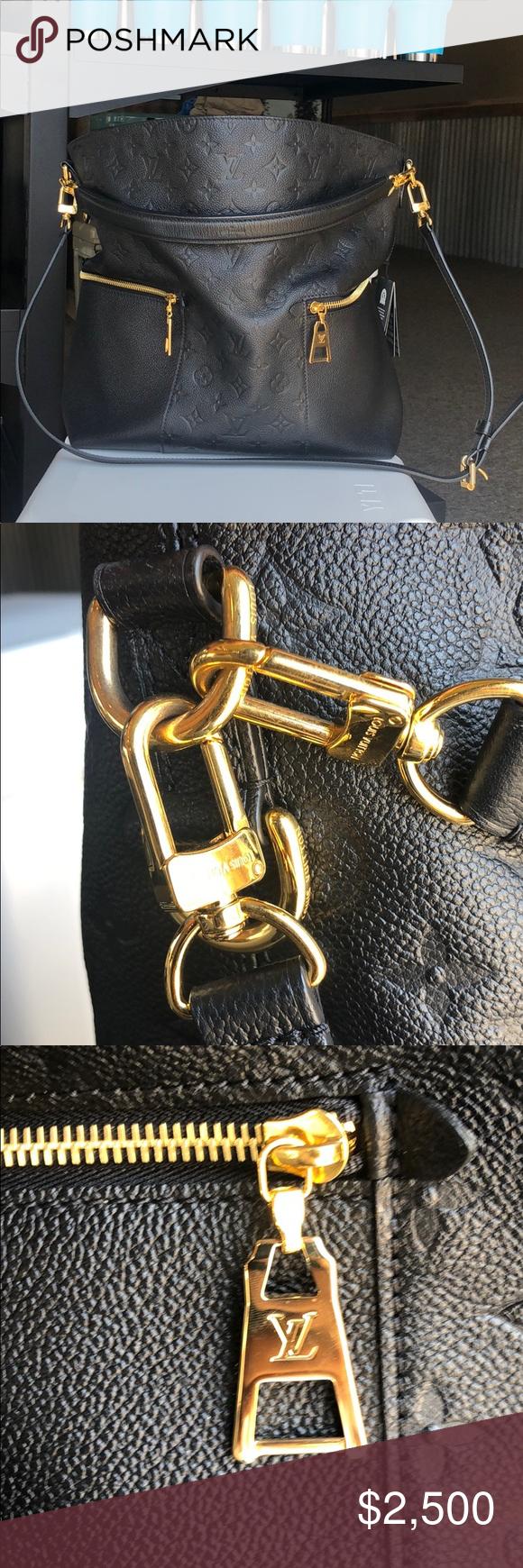 LOUIS VUITTON Mélie handbag Monogram Empreinte Excellent