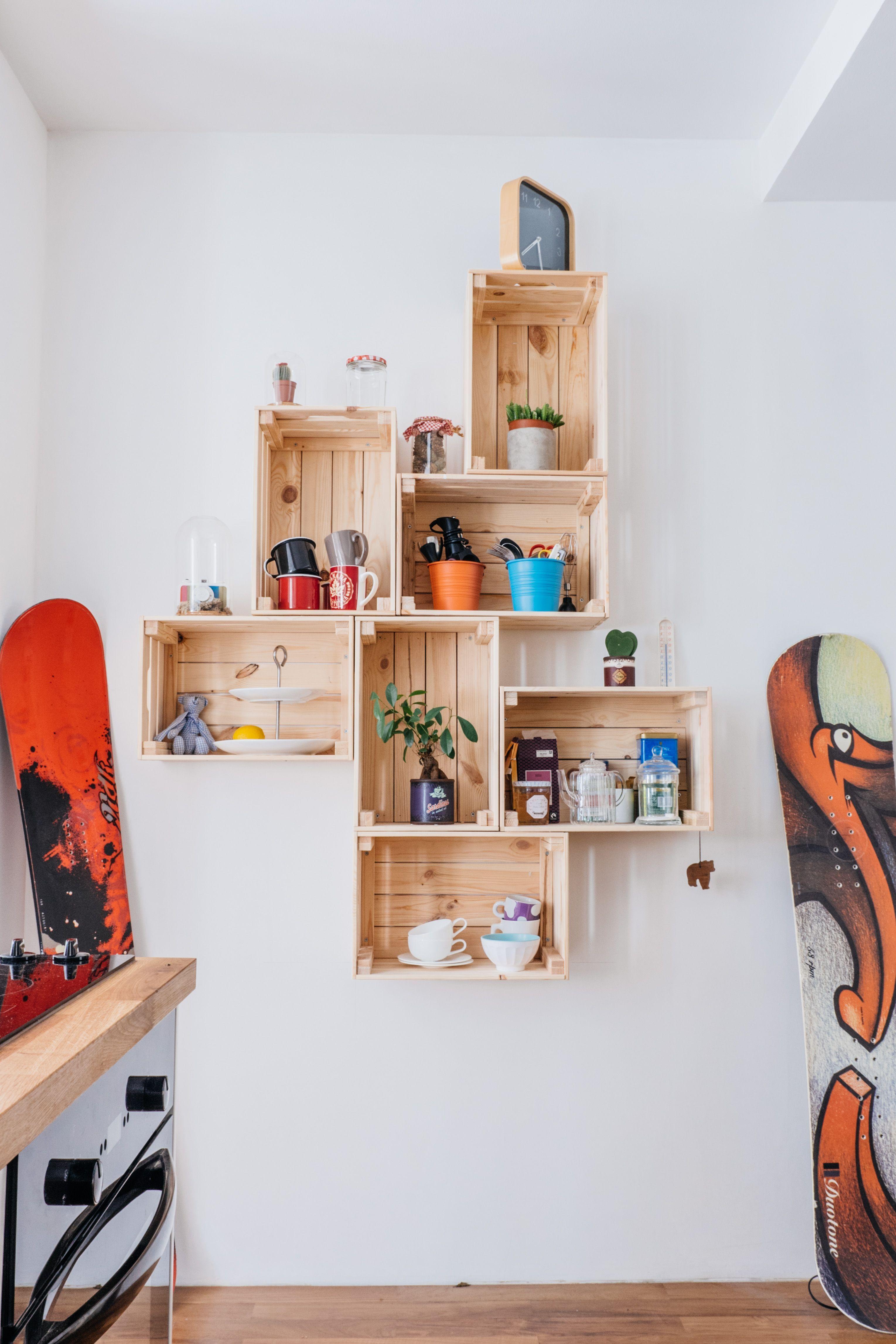 19 idées de recyclage de palettes et caisses en bois pour la