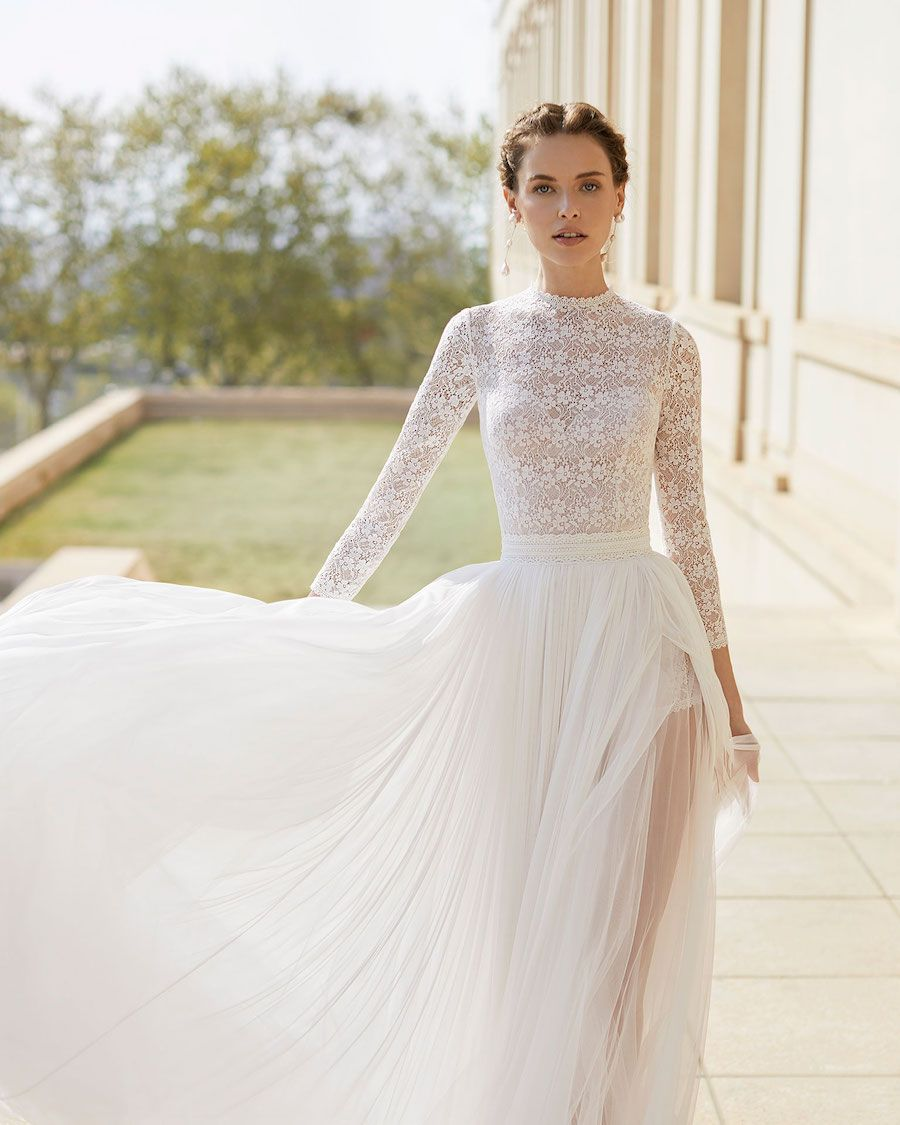 Rosa Clará Wedding Dresses from the Stunning 2020 Couture Collection