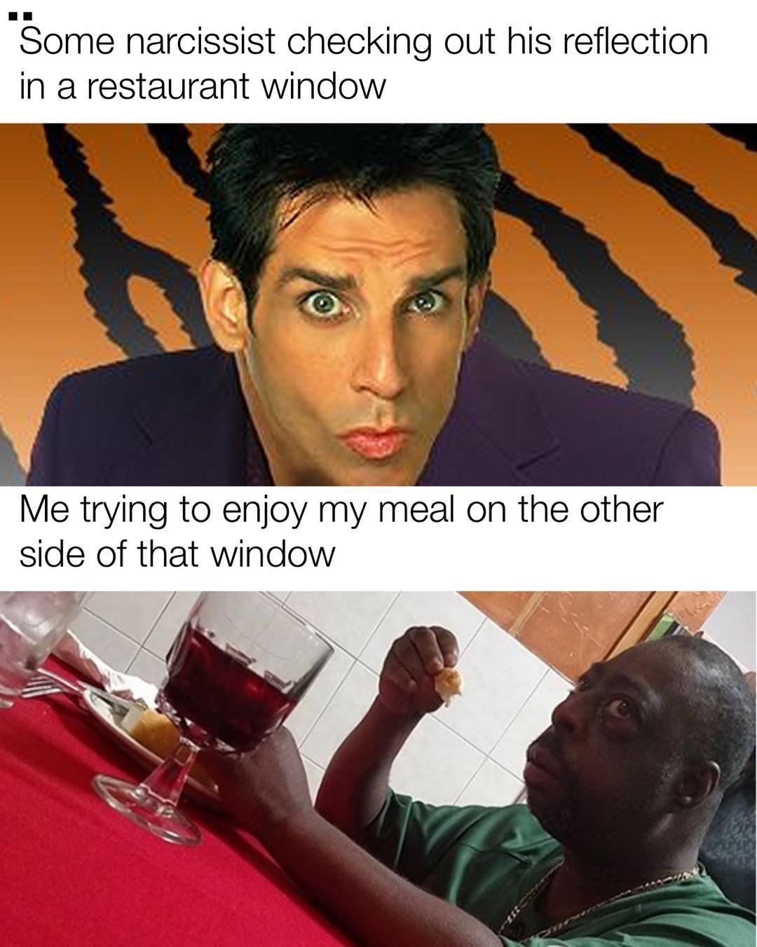 Guy Eating Alone Meme