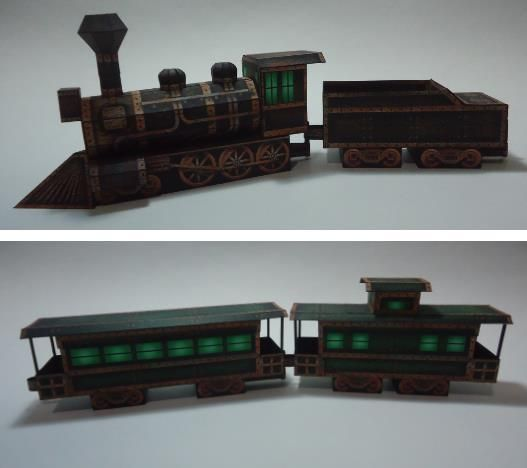 halloween special i built the ravensblight ghost train paper model - Lego Halloween Train