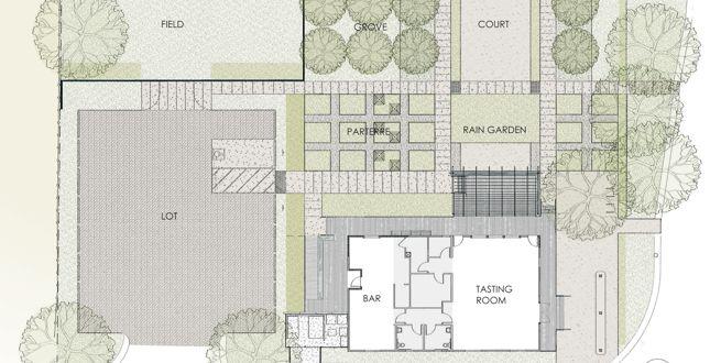 Medlock Ames Tasting Room And Alexander Valley Bar Floor Plans