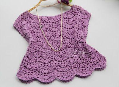 crochet home: Crochet Top