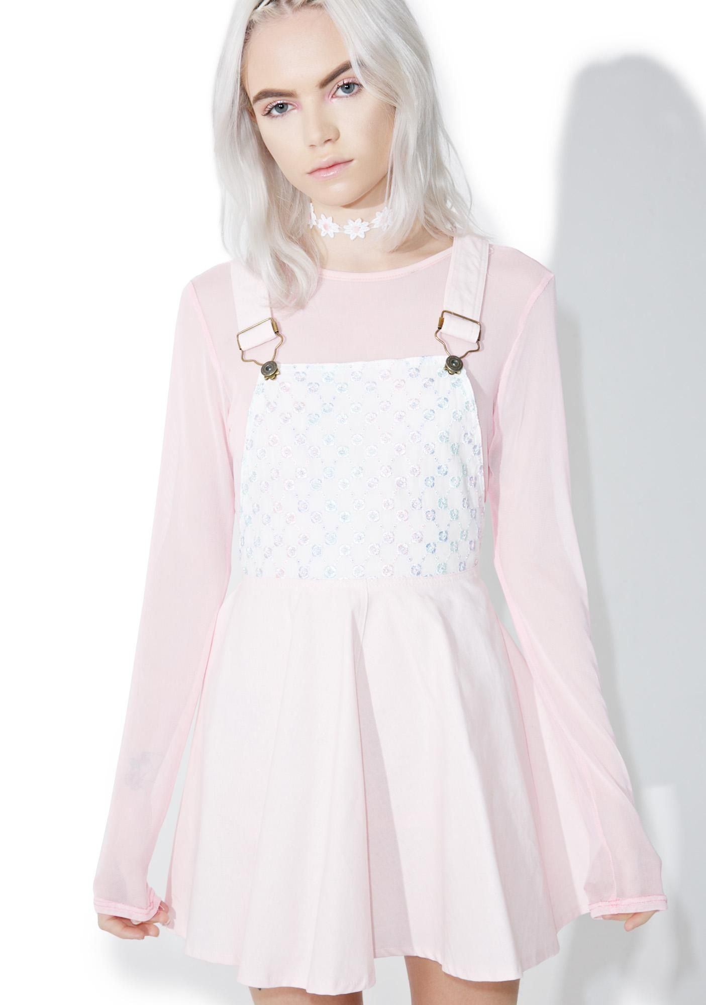 9d82fcd72c3d Pastel Petals Overall Dress are a world of color, bb~ This mega cute overall