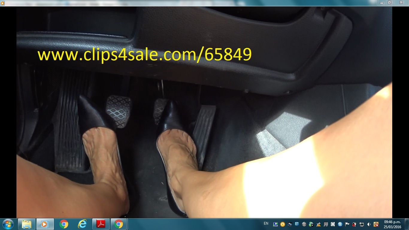 Fast Stiletto Driving Wearing My Bmw High michael Heels Pumps roxdCEBeQW