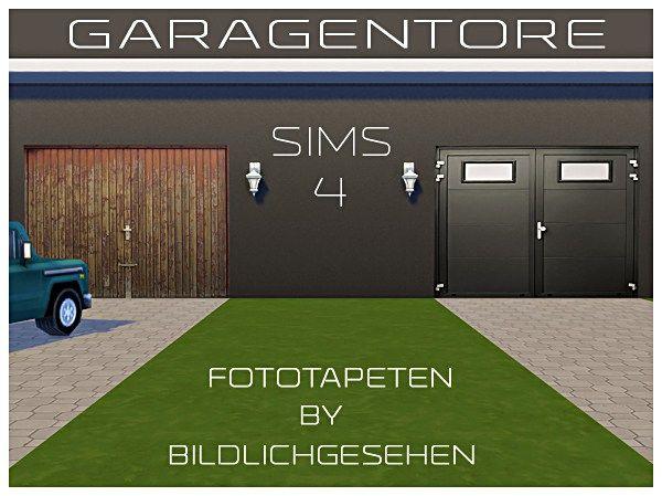 20 Sims 4 Garage Doors Ideas Garage Doors Sims 4 Sims