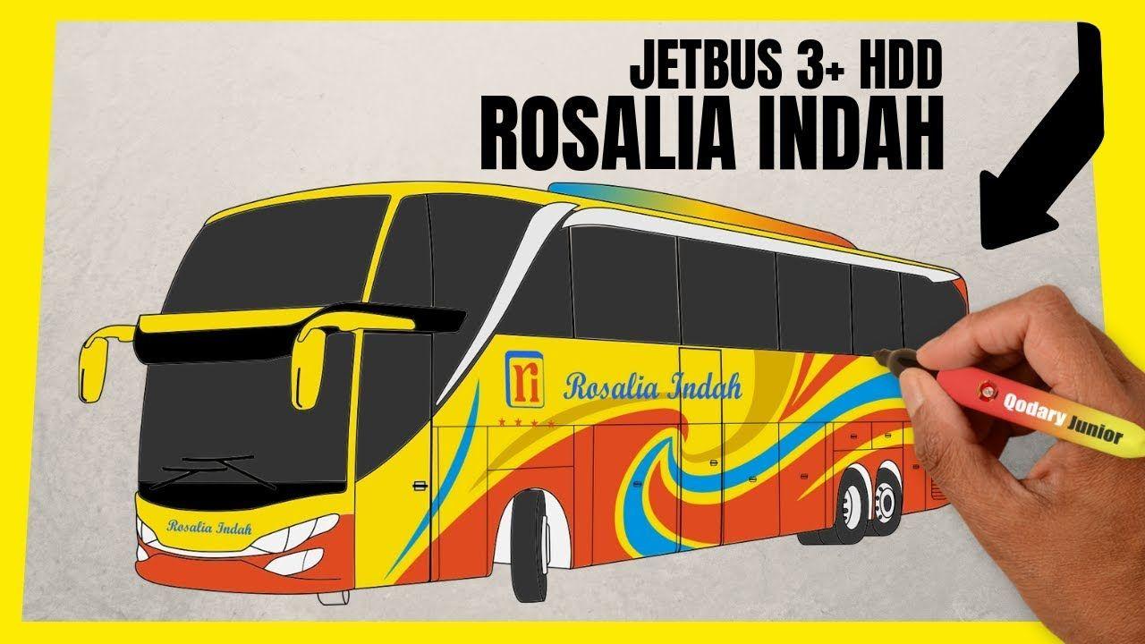 Cara Menggambar Bus Jetbus 3 Livery Bus Rosalia Indah Hdd Jetbus 3 New Video By Qodary Junior On Youtube