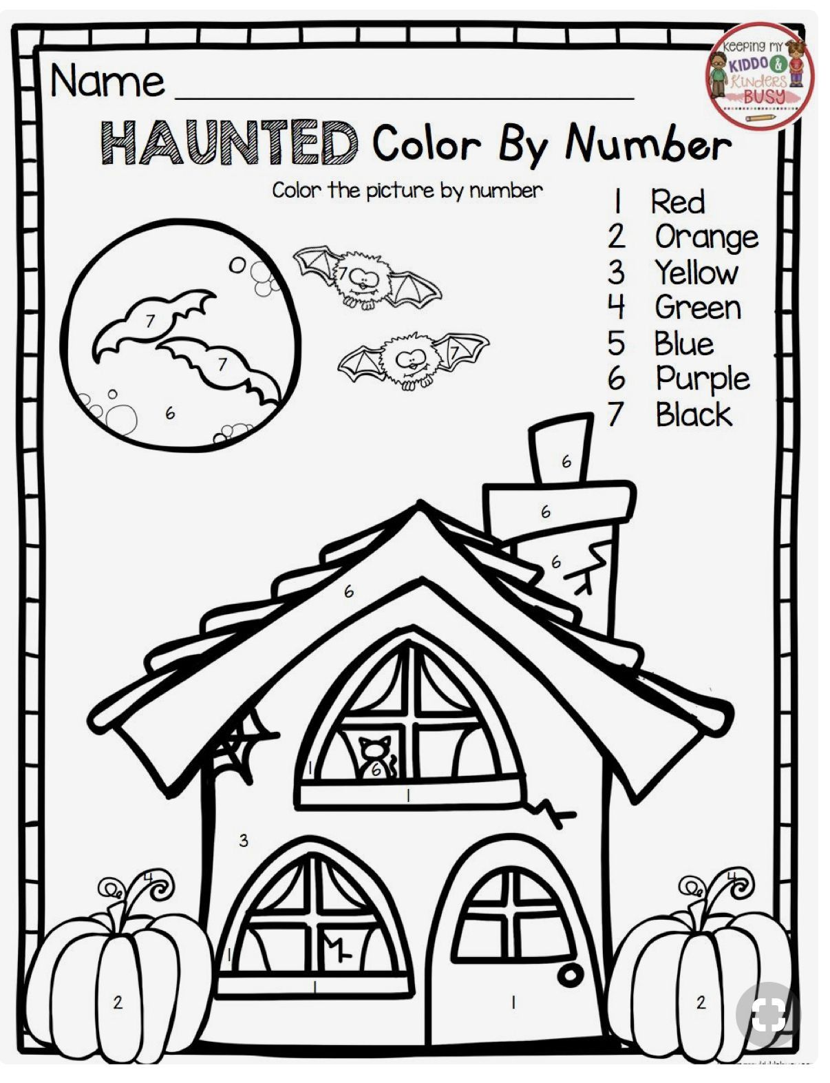 4 Math Coloring Worksheets Halloween Pin By Lucie Davis On