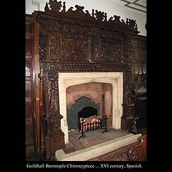 a fireplace just grand enough...