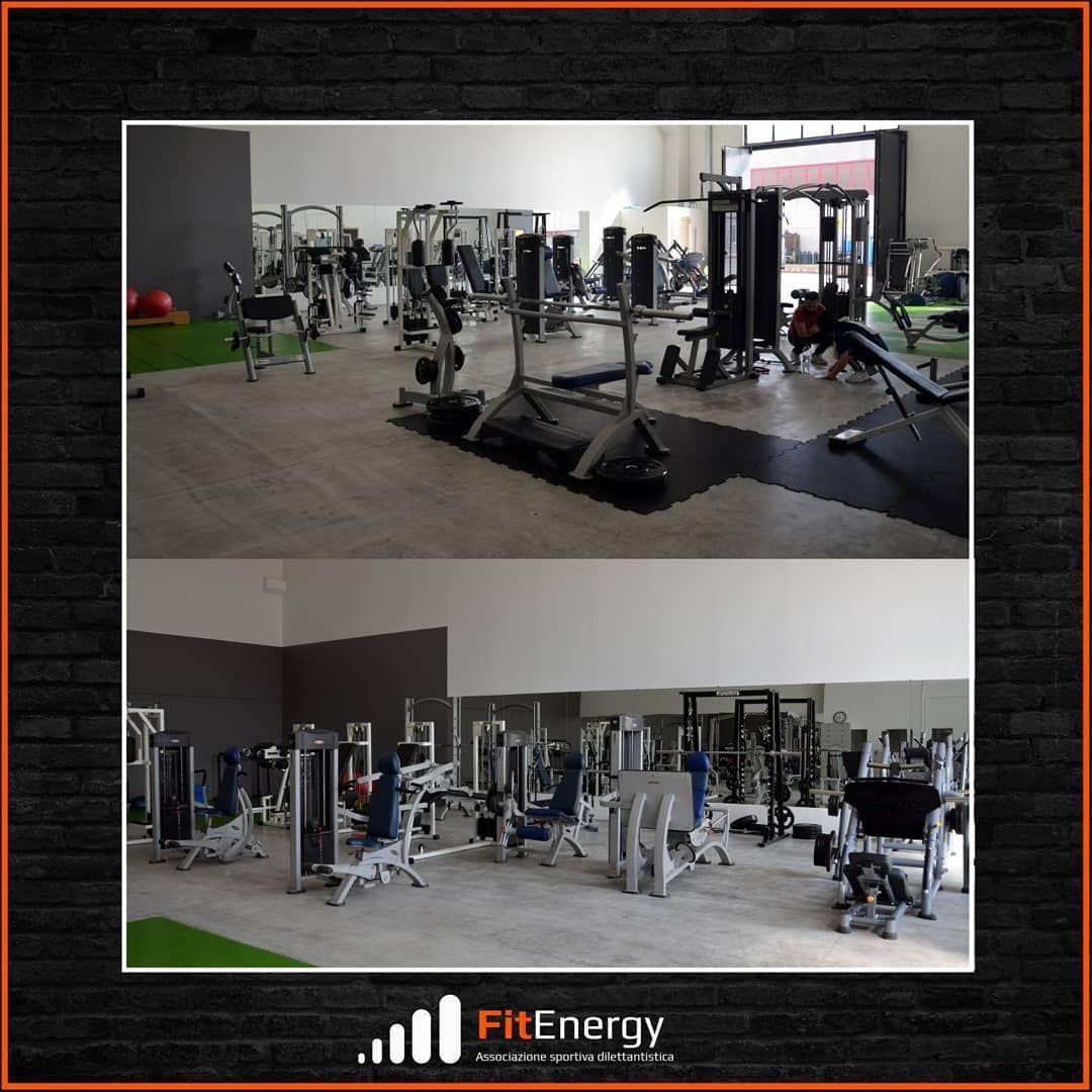 🔸️ AMPIA SALA PESI 🔸️ Fit Energy ti aspetta nella nuova ed ampia sala pesi, dove potrai essere segui...