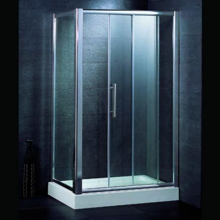 1200mm Sliding Door And 900mm Side Panel Comparethebathroom Com Shower Cubicles Sliding Doors Paneling
