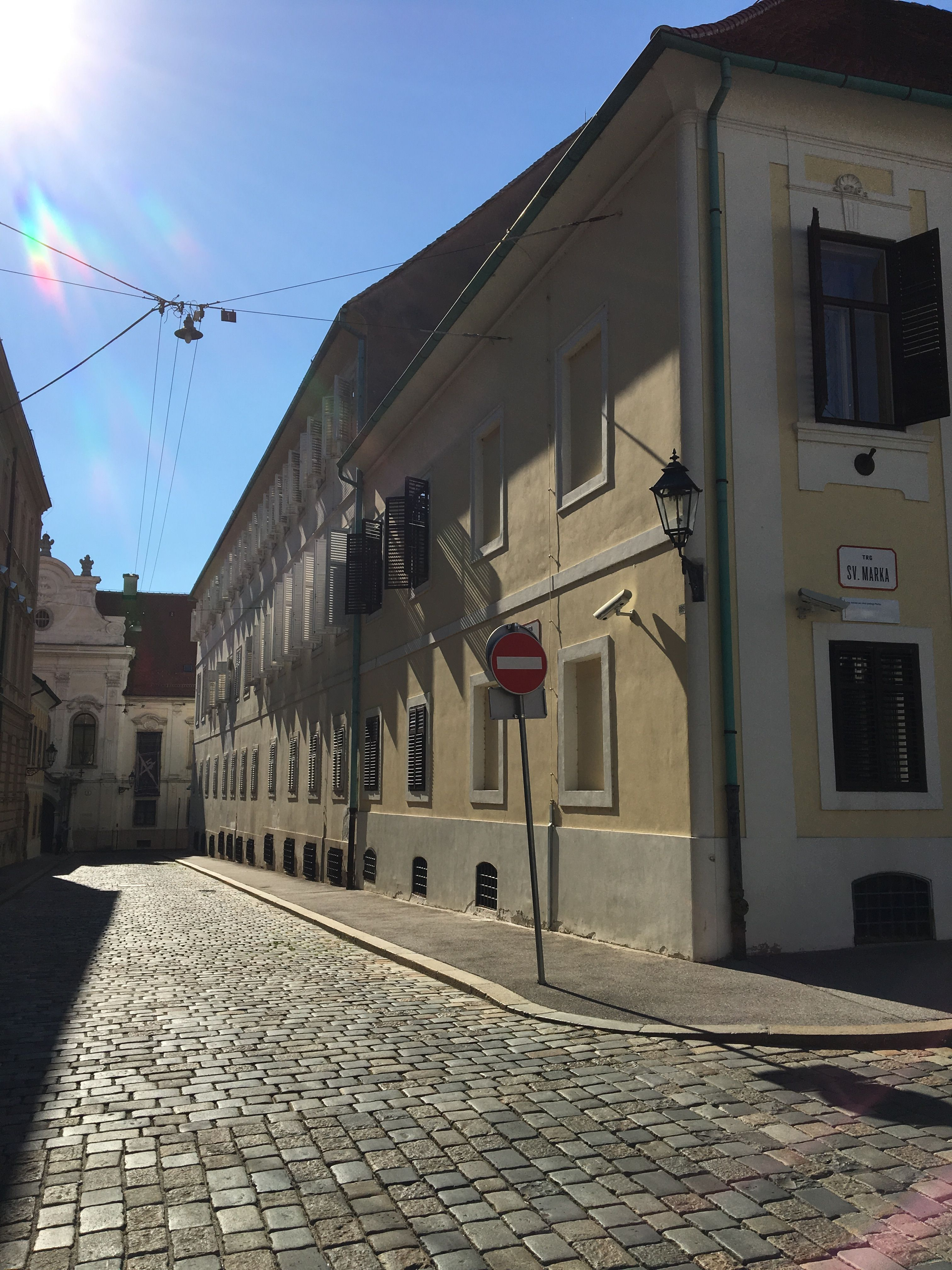 Cobblestone Streets At St Mark S Square Long For Colder Days The Heat Is On Lobagolatours Zagreb Welovezagreb Microadventure C La Tours Bike Tour Tours