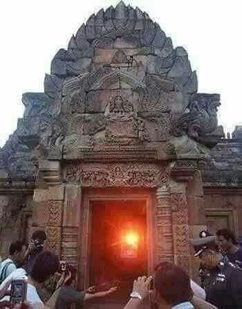 This happens once in 2000years....the sun inside the sun temple at konark,Orissa.....