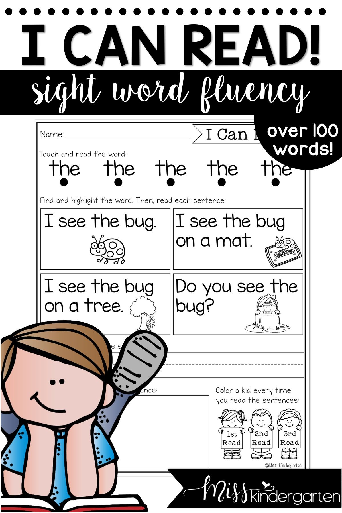 Sight Word Fluency Is Such An Integral Part Of Reading