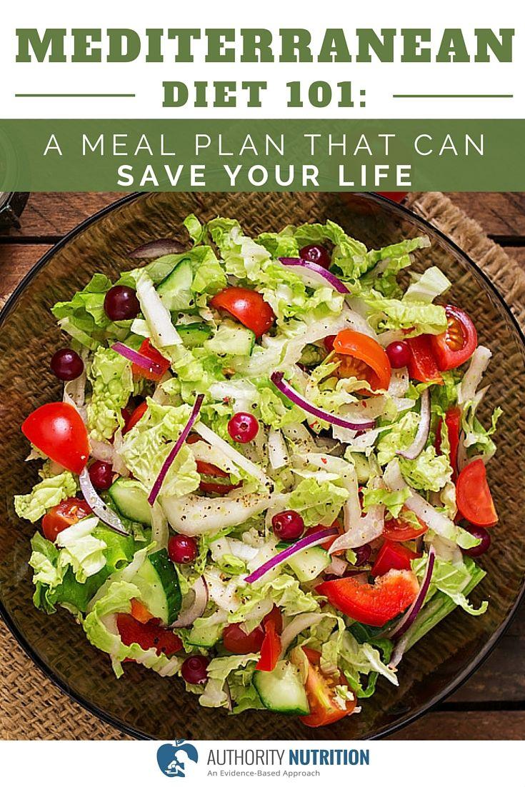 Mediterranean Diet 101 A Meal Plan and Beginner's Guide