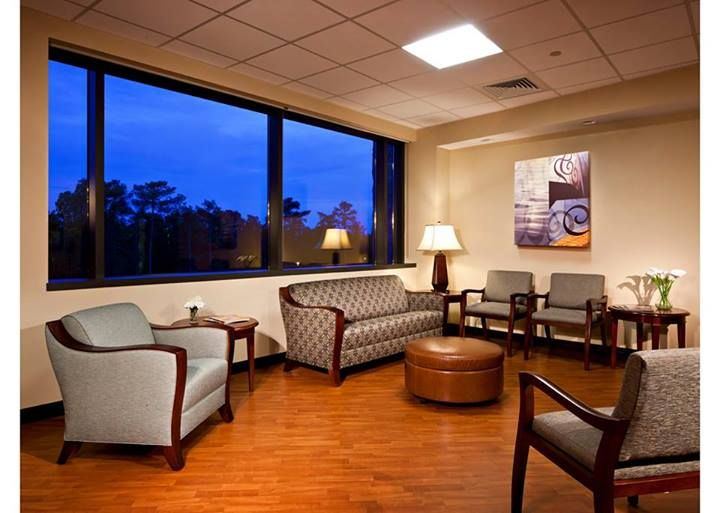 The clear gigantic #Window Magic uPVC windows provide the illusion of a larger space to a relatively small waiting and visitor lounge. They add grace and allow for a beautiful view of the outside.
