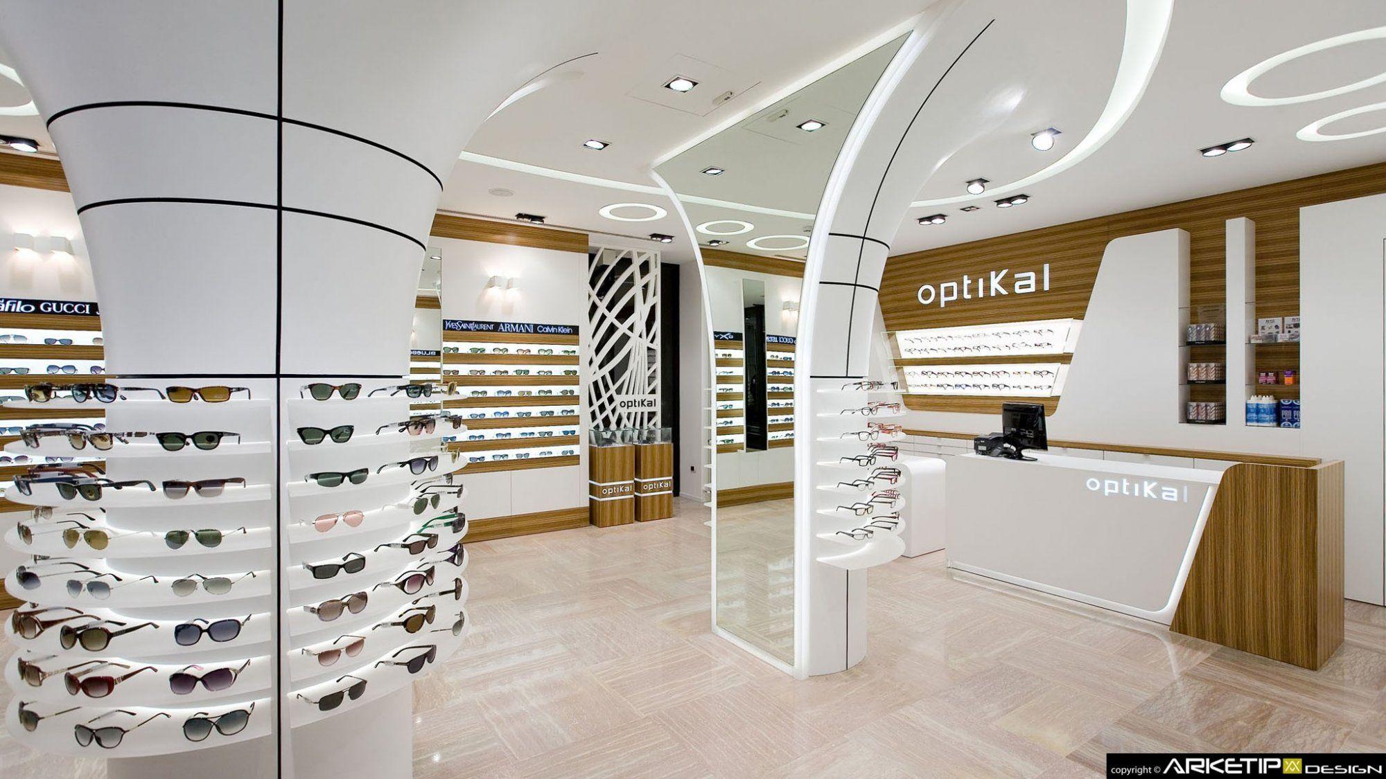 Arredamento negozio ottica optikal progetto arredamento d for Arredamento d interni