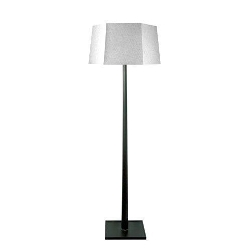 Ebony Wood Floor Lamp