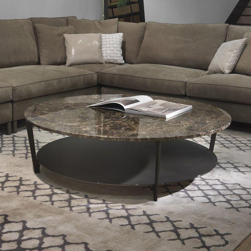 Soho Round Marble Coffee Table