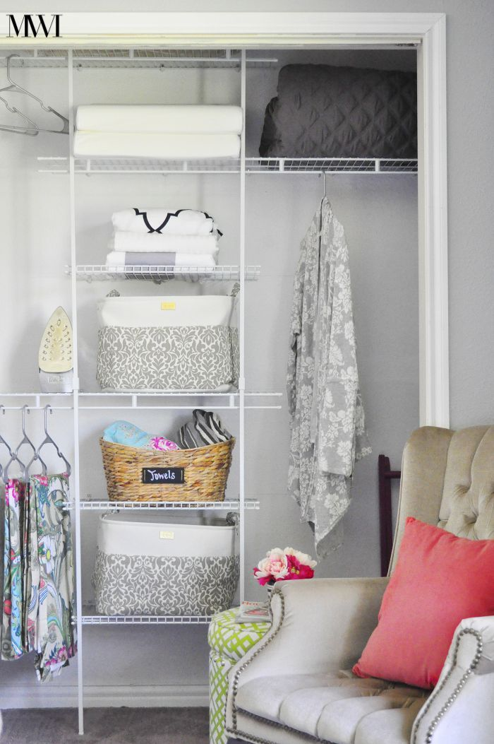 Makeover Your Closet To Increase Its Function And Organization For Under 100 Using A Closetmaid System Without Any Cutting Saw What Great