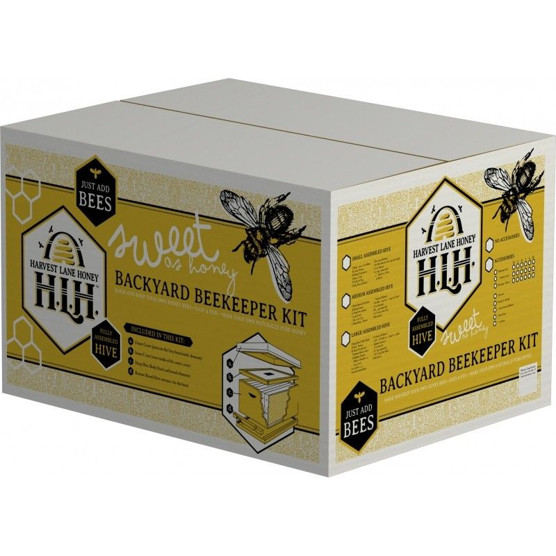 Ordinaire Harvest Lane Honey Small Backyard Beekeeping Kit WWA 104 #smoker #beebrush # Beekeeping