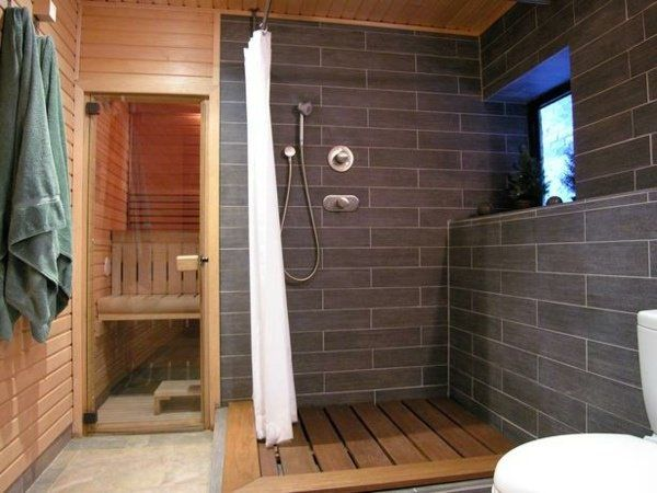 meuble de salle de bain et ides de dco en 60 photos supers - Salle De Bain Avec Sauna