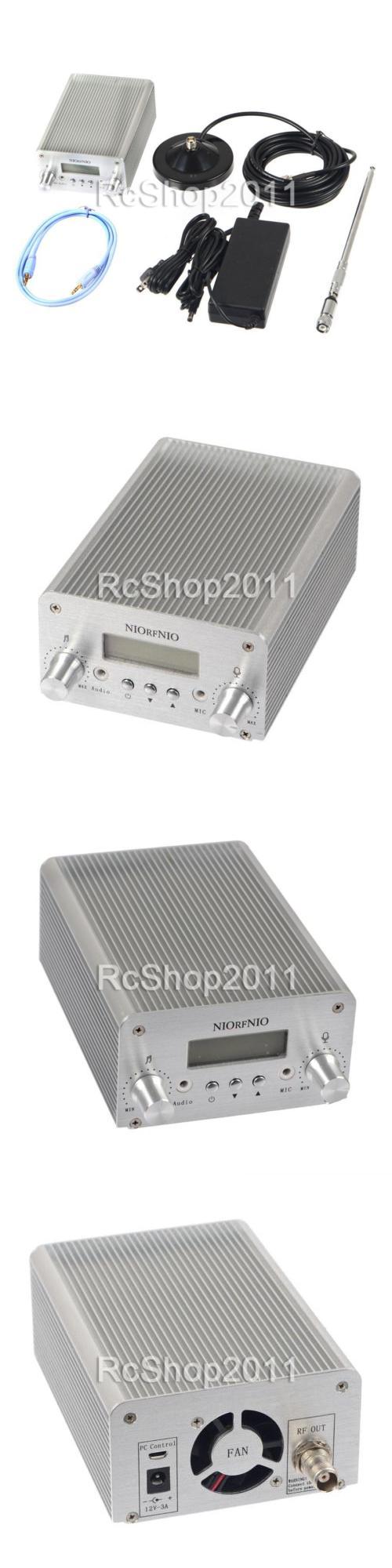 Ham Radio Transmitters: 5W / 15W Pll Fm Transmitter Radio Stereo Station Wireless Broadcast+Tnc Antenna -> BUY IT NOW ONLY: $117.99 on eBay!