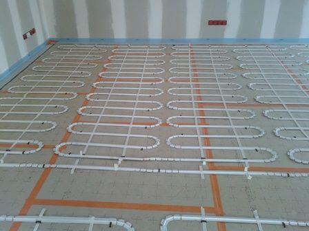 Plancher Chauffant Maison Ossature Bois Chantier Maison Ossature Bois Construction Ossature Bois Et Plancher Chauffant