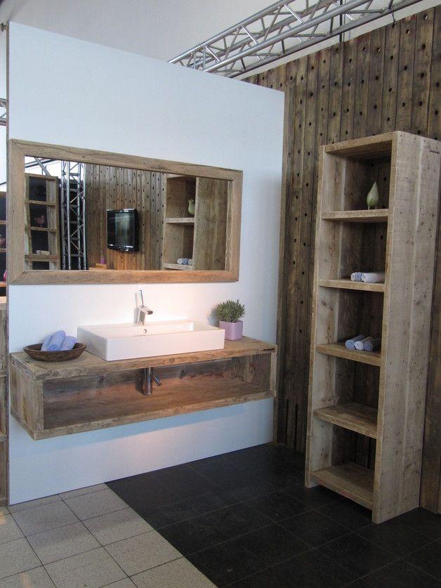 Badezimmer Aus Bauholz Bauen Mit Holz Wc Regal Badezimmer