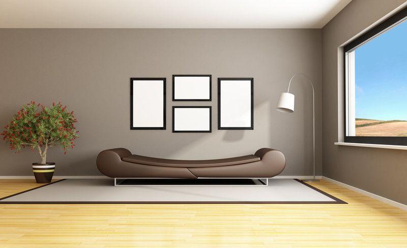 Ideen zum Wohnzimmer streichen \u00bb 5 kreative Beispiele ...