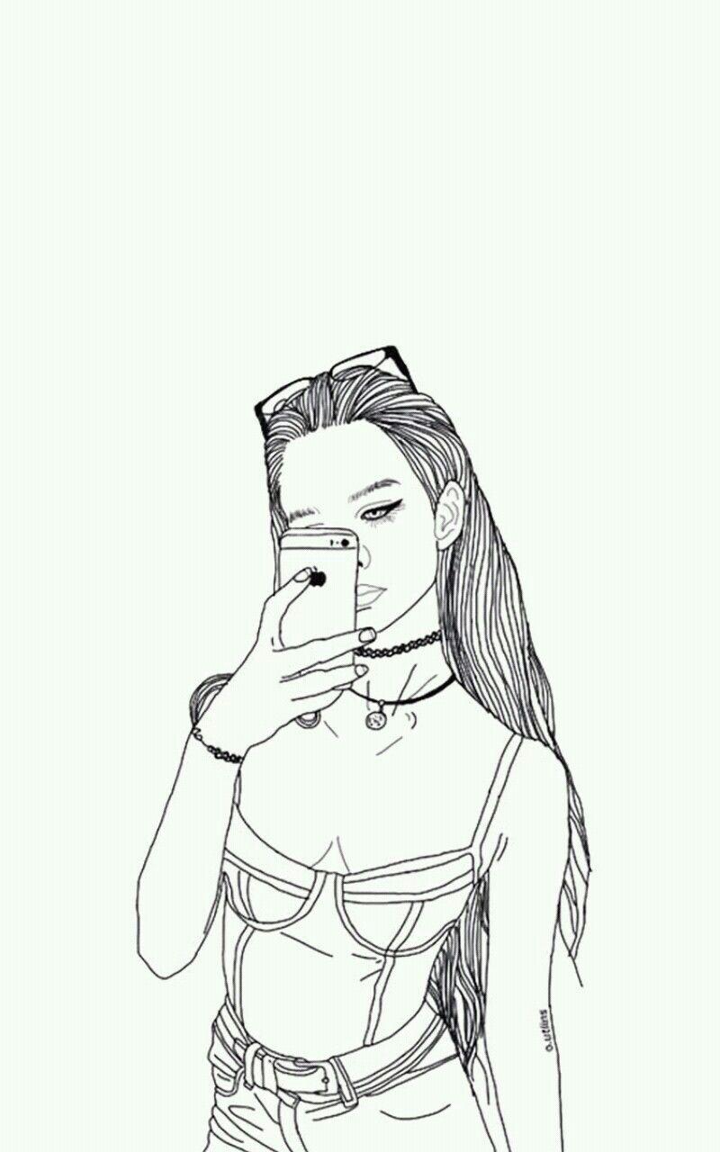 Pin Di Fateme Bagherzade Su Girl Painting Illustrazione Tumblr Disegni Da Colorare Disegni Di Ragazze