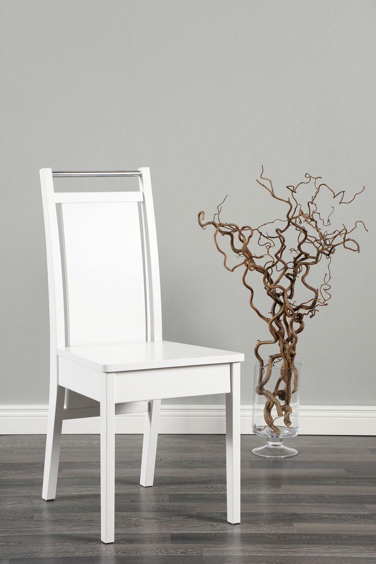 Tuoli kaunis kuin koru! 💍 Malli: Koru ruokatuoli Vaihtoehdot: useita väri- ja verhoiluvaihtoehtoja Jälleenmyyjä: Asko-myymälät  #pohjanmaan #pohjanmaankaluste
