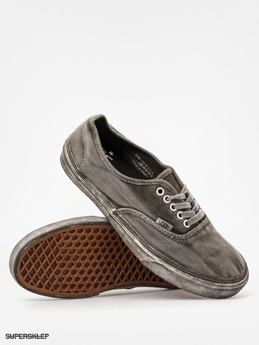 1cbbc185c250e2 Buty Vans Authentic CA (over washed black)