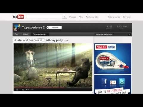 구글 크리에이티브 샌드박스에 올라온 테팩스 헌터 앤 베어 캠페인 캐이스 비디오