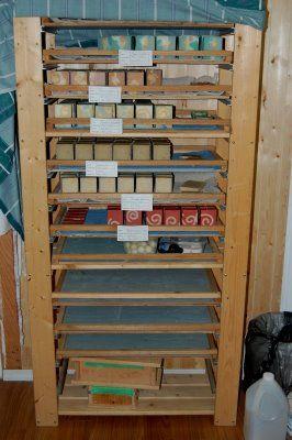 Build a Soap Curing Rack | Soap Stuff & Ideas | Soap ...