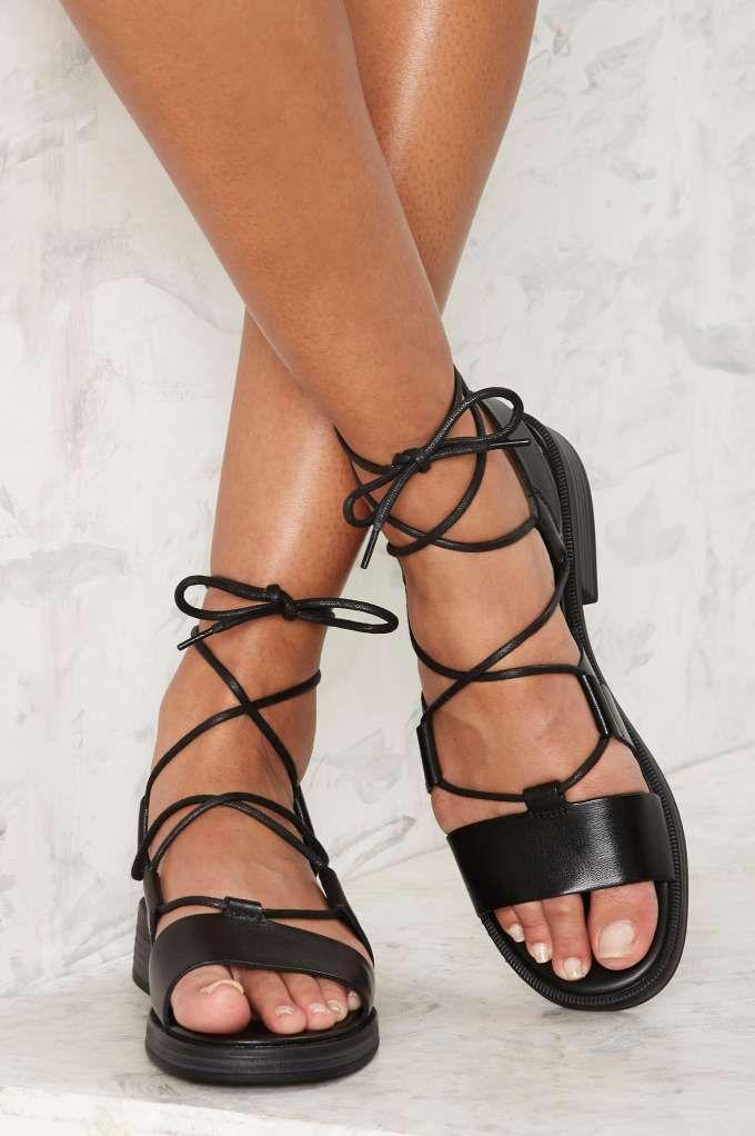 Vagabond Ivy Leather Sandals - Shoes | Sandals | Vacation Shop