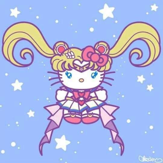 2b39f29f9 Hello Kitty Sailor Moon | Sailor Moon 3 | Hello kitty, Sailor moon ...