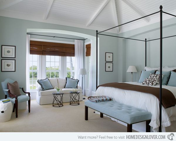 15 Beautiful Brown And Blue Bedroom Ideas Home Design Lover Blue Brown Bedrooms Light Blue Bedroom Traditional Bedroom
