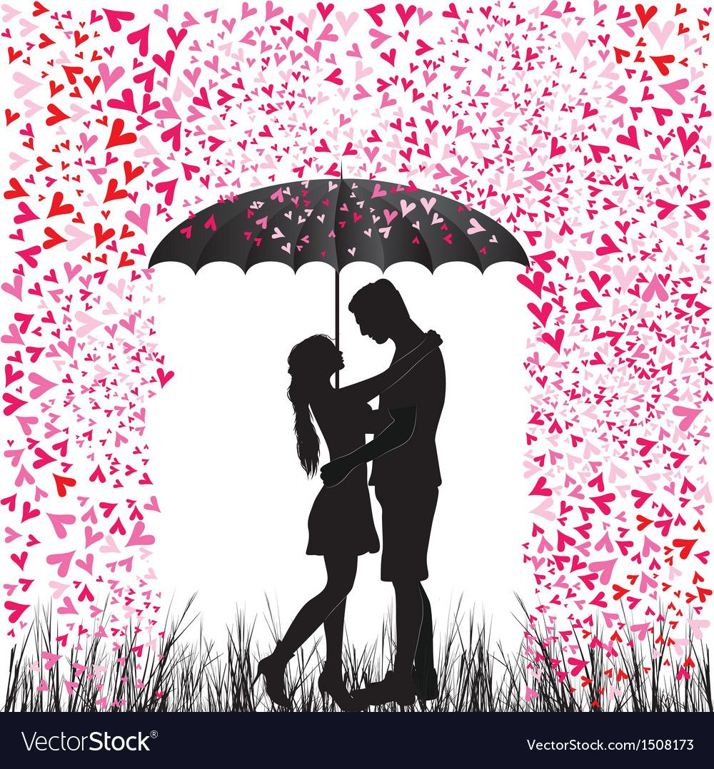 Image Result For Umbrella Silhouette Couple Kiss With Images