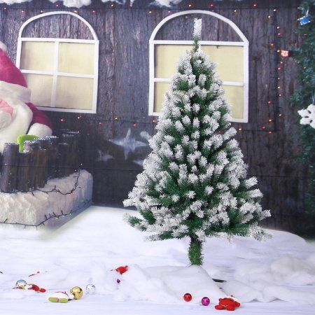 Large 12/15/18m Spray Snow White Artificial Christmas Welcome