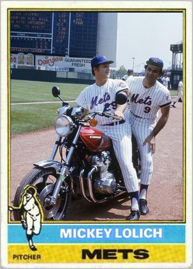 Mickey Lolich New York Mets My Custom Baseball Cards New York