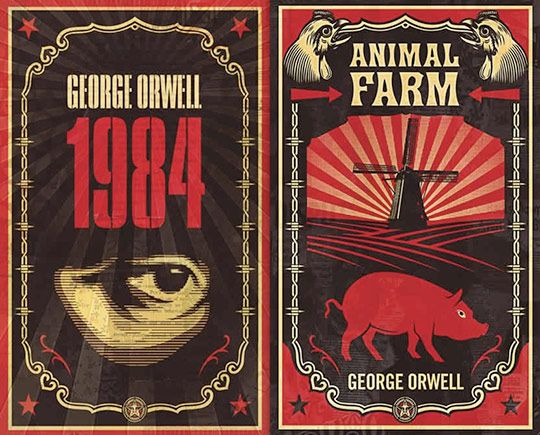 What is the purpose of a spontaneous demonstration in Animal Farm?