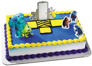 MONSTERS INC Boo Cake Topper Decoration Party Kit Birthday Sully
